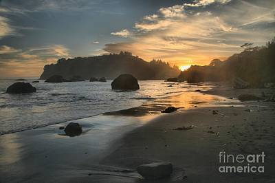 Photograph - Trinidad Sunset Reflections by Adam Jewell