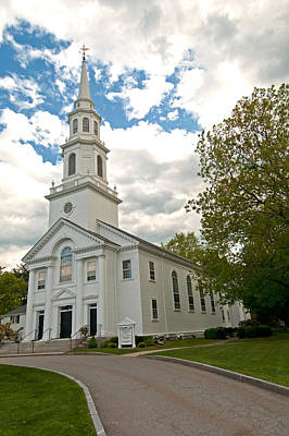 Photograph - Trinitarian Congregational Church by Paul Mangold