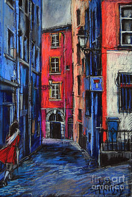 Pastel - Trinite Square Lyon by Mona Edulesco