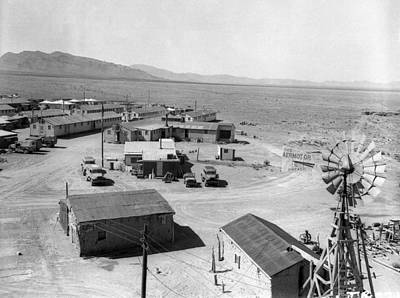 Photograph - Trinity Base Camp, Manhattan Project by Science Source