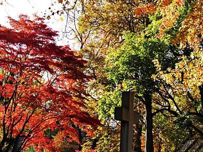 Photograph - Trinity Cemetery 2 by Sarah Loft