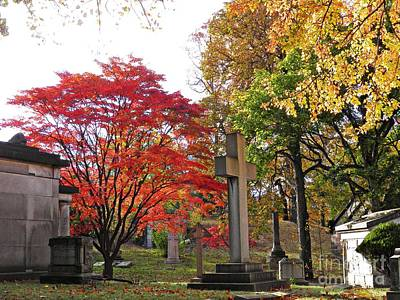 Photograph - Trinity Cemetery by Sarah Loft