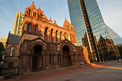 Photograph - Trinity Church Boston Ma by Toby McGuire