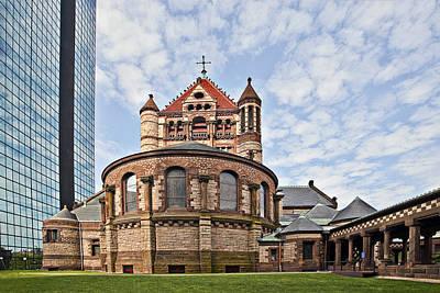 Bean Town Photograph - Trinity Church In Boston by Marcia Colelli