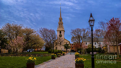 Photograph - Trinity Church.  by New England Photography
