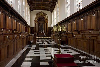 Trinity College Chapel In Cambridge Art Print