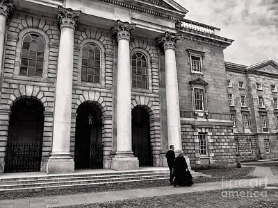 Photograph - Trinity College Examination Hall by Menega Sabidussi