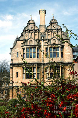 Photograph - Trinity College Oxford by Terri Waters