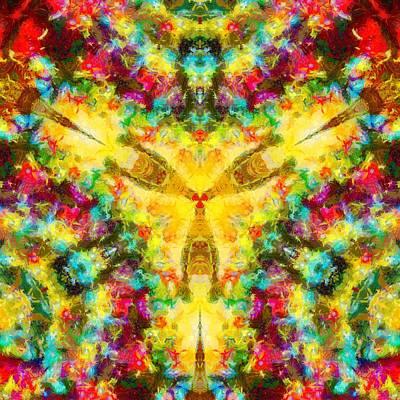 Painting - Trinity Crossroads by Derek Gedney