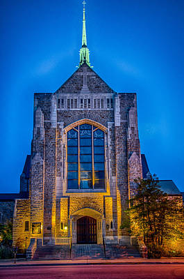 Photograph - Trinity English Lutheran Church Fort Wayne by Gene Sherrill