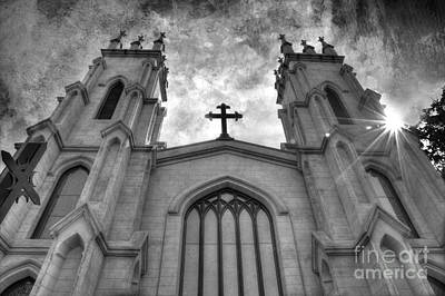 Photograph - Trinity Episcopal Cathedral by Michael Eingle