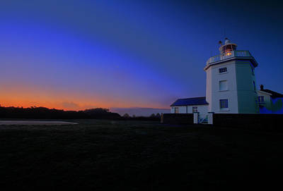 Photograph - Trinity House Lighthouse  by David French
