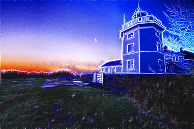 Photograph - Trinity House Lighthouse Fractals  by David French
