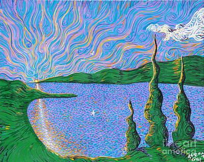 Trinity Lake Series Art Print by Stefan Duncan