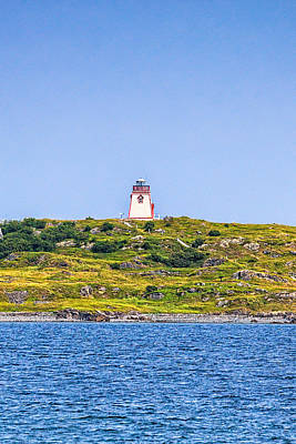 Photograph - Trinity Lighthouse by Perla Copernik