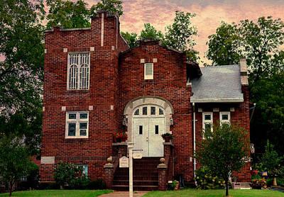Photograph - Trinity Lutheran Springfield Missouri by Deena Stoddard