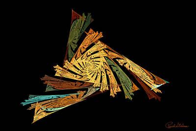 Digital Art - Trinity by Rich Stedman