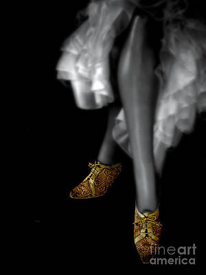 Shoes Photograph - Trinkets Of Gold by Steven Digman