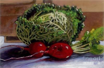 Painting - Trio by Betsee  Talavera