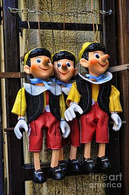 Photograph - Prague Childrens Puppets by Brenda Kean