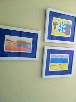 Painting - Trio Of My  Work by Anita Dale Livaditis