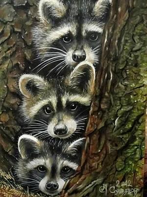 Painting - Trio by Sergey Selivanov