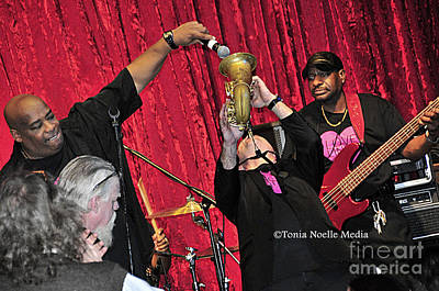 Photograph - Trio Throwdown With Andy Stokes And Patrick Lamb And Randy Monroe by Tonia Noelle