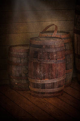 Digital Art - Triple Barrels by Susan Candelario