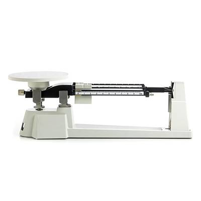 Triple Beam Balance Scales Art Print by Science Photo Library