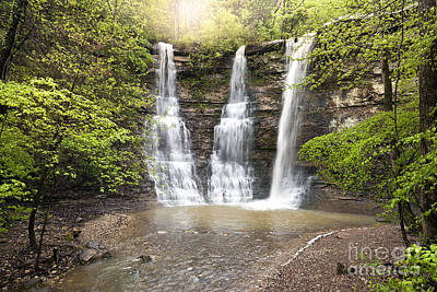Triple Falls Print by Brandon Alms