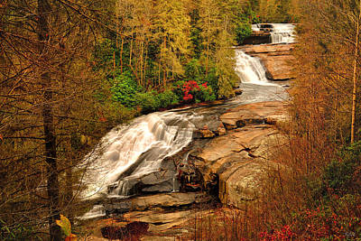 Photograph - Triple Falls by Greg Norrell