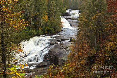 Photograph - Triple Falls by Jill Lang