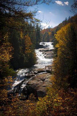 Tripple Photograph - Triple Falls by Penny Lisowski