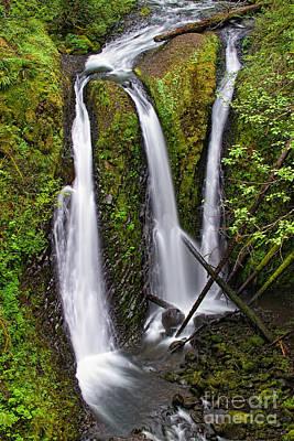 Photograph - Triple Falls by Stuart Gordon