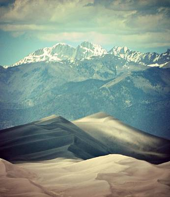 Photograph - Colorado Great Sand Dune by Michelle Frizzell-Thompson