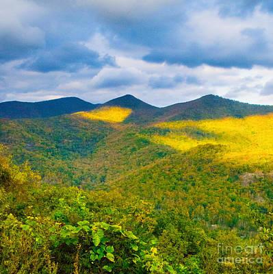 Photograph - Triple Peaks by Scott Hervieux