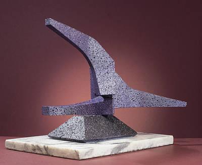 Sculpture - Triple Play  by Richard Arfsten
