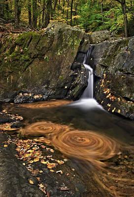 Photograph - Triple Swirls by Susan Candelario