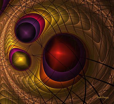 Triple Yin Yang  Art Print by Coqle Aragrev