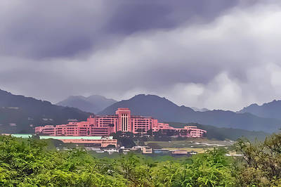 Photograph - Tripler Army Medical Center by Dan McManus
