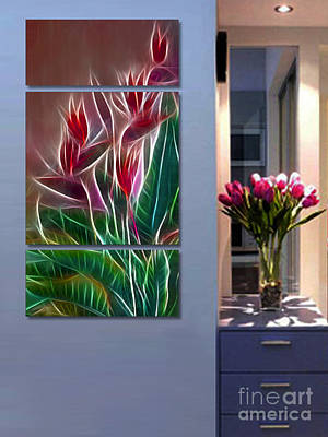 Photograph - Triptych Display Sample 04 by Peter Piatt