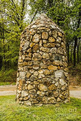 Photograph - Tristate Marker Baxter Springs Kansas by Deborah Smolinske