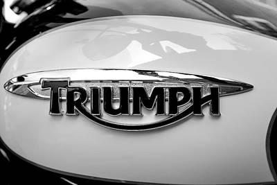 Triumph Fuel Tank Art Print