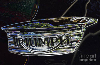 Digital Art - Triumph 2 by Wendy Wilton