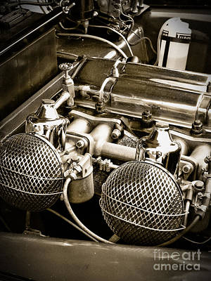 Photograph - Triumph Motor by Colleen Kammerer