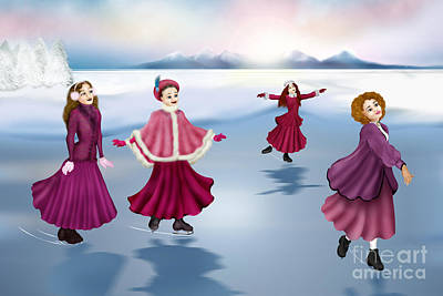 Digital Art - Triumph Of Winter by Pauline Moore