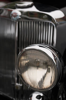 Photograph - Triumph Roadster One Headlight by Scott Campbell