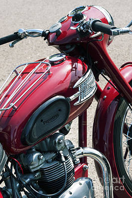 Photograph - Triumph Speed Twin  by Tim Gainey
