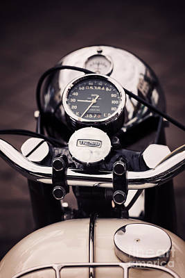 Sixties Photograph - Triumph Tiger 90 by Tim Gainey