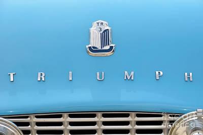 Triumph Painting - 1958 Triumph Tr3 by George Atsametakis